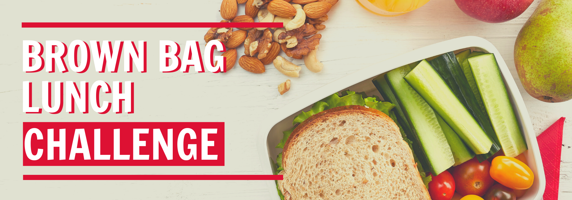 banner graphic - Brown Bag Lunch Challenge