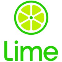 Lime logo and link to website