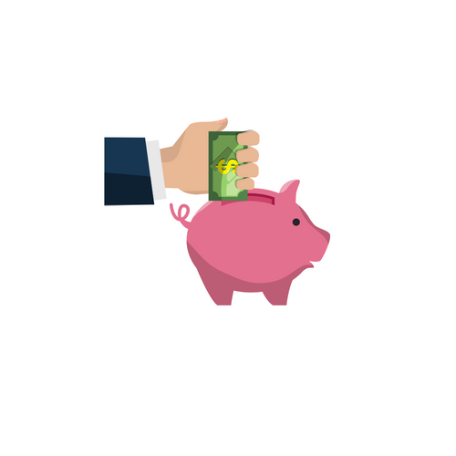 graphic of a piggy bank